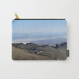 road trip, 2nd look, killer view, mountains, expanded view of same pic. Carry-All Pouch