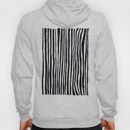 Black Stripes Hoody