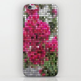 Crape Myrtle Mosaic iPhone Skin