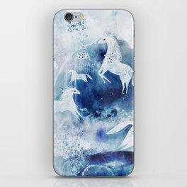 Chevaux magiques iPhone Skin