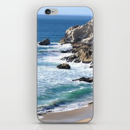 CALIFORNIA COAST - BLUE OCEAN iPhone Skin