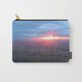 Flying at Sunset (Full Sutton) Carry-All Pouch