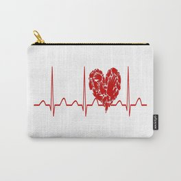 Social Worker Heartbeat Carry-All Pouch
