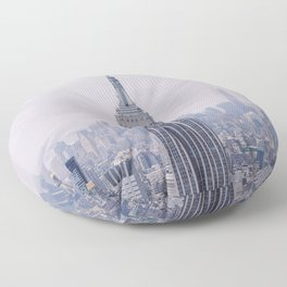 Empire State Building – New York City Floor Pillow