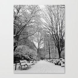 Gramercy Park, New York City Canvas Print