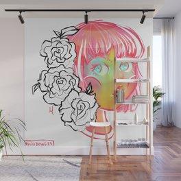 Pink Haired Princess Wall Mural