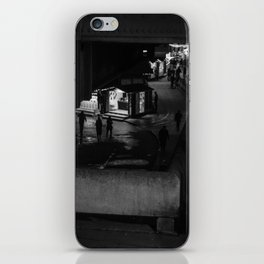 Silhouettes Of Southbank. iPhone Skin