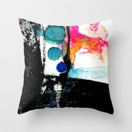 Ecstasy Dream No. 8 by Kathy Morton Stanion Throw Pillow
