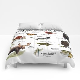 Wildlife of the Boundary Water Canoe Area Comforters