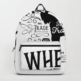 Wheaten Trading Co. dog art Backpack