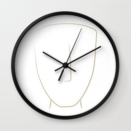 cycladic #3 Wall Clock