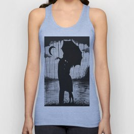 Meeting two hearts Unisex Tank Top