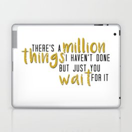 there's a million things i haven't done Laptop & iPad Skin