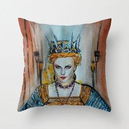 Queen Charlize Throw Pillow