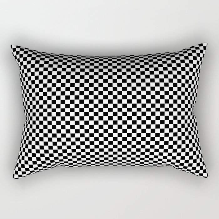 Simple checkerboard background Rectangular Pillow