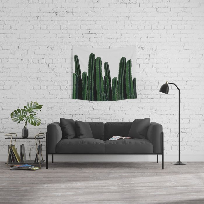 Cactus I Wall Tapestry