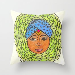Cabbage Wrap Kid Throw Pillow