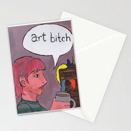 Art Bitch Stationery Cards