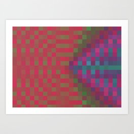 Pixelated Art Prints   Society6