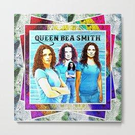 Queen Bea Smith Metal Print
