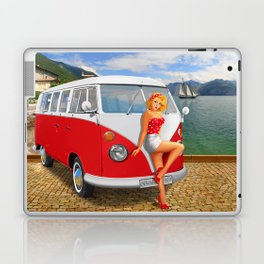 Holiday on Lake Garda in 1959 Laptop & iPad Skin