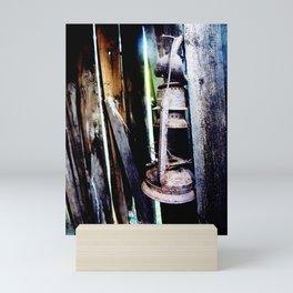 Lantern in the Smokehouse Mini Art Print