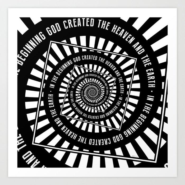 In The Beginning Art Print