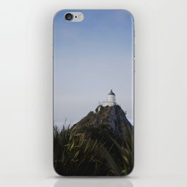 nugget point lighthouse iPhone Skin