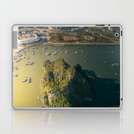 Last light of Ha Long Bay, Vietnam. Laptop & iPad Skin