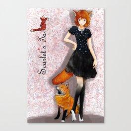 Scarlet Fox Canvas Print
