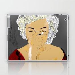 smoke marilyn Laptop & iPad Skin