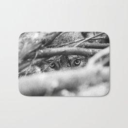 Wild Eyes Wolf Edition Bath Mat
