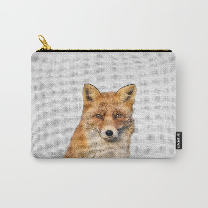 Fox - Colorful Carry-All Pouch