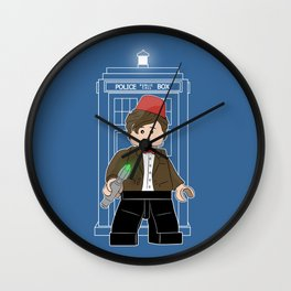 The Doctor (Lego Doctor Who) Wall Clock