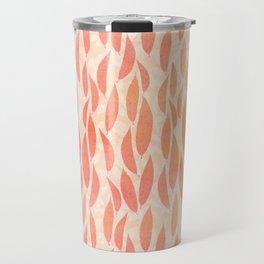 Watercolour Leaves Travel Mug