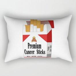 Premium Cancer Sticks Rectangular Pillow