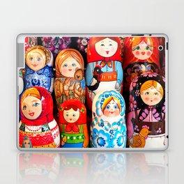 Culture. Group of matrioska, or babushka, symbol of maternity from Russia. Laptop & iPad Skin
