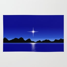 Star Horizon 107 Blue Sky Rug