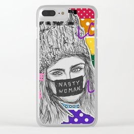 (Cara Delevingne - LGBT) - yks by ofs珊 Clear iPhone Case
