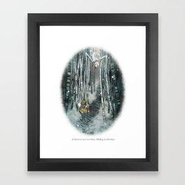 Behind You 81 Framed Art Print