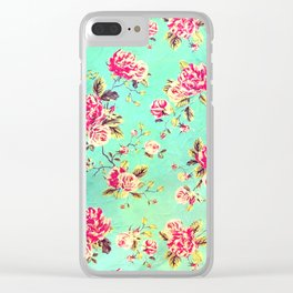 Vintage Flowers XLIII - for iphone Clear iPhone Case