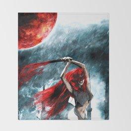 Red Sonja Throw Blanket