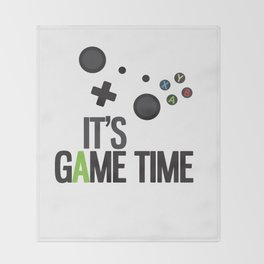 It's Game Time Throw Blanket