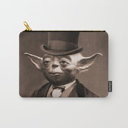 Portrait of Sir Yoda Carry-All Pouch