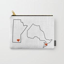 Winnipeg + Toronto Carry-All Pouch