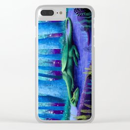 The Sleeping Dragon Clear iPhone Case