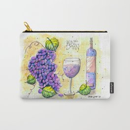 Wine Down Carry-All Pouch