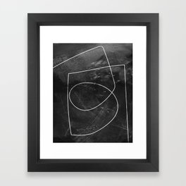 Minimal 9 Framed Art Print