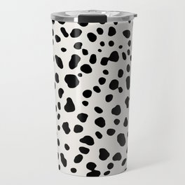 Polka Dots Dalmatian Spots Travel Mug