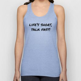The Short Life Unisex Tank Top